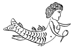 1808 mermaid tattoo